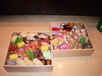 堺筋本町の日本紐釦の側の居酒屋【京のおばんざい小町】おせち料理1